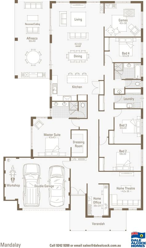 dale alcock house plans mandalay floorplan dale alcock houses pinterest