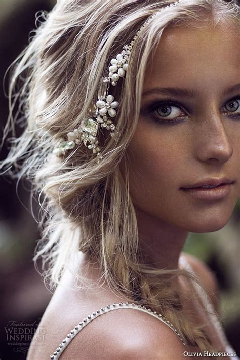 hairstyles with rhinestone headband 144 best images about bridal veils headpieces on pinterest