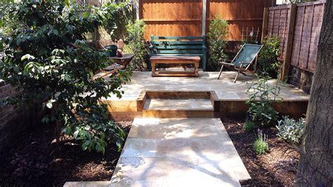 Garden Patio Designs Uk Travertine Paving Patio Modern Garden Design Landscaping Earlsfield Wandsworth Archives