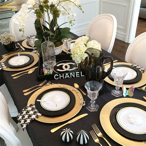 Chanel Decorations by 170 Best Images About Chanel Inspired Bridal Shower On