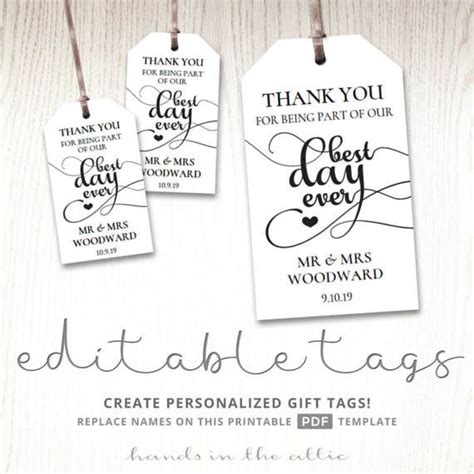 116 Best Party Gift Favor Tags Images On Pinterest Favor Tags Gift Ideas And Gift Tags Wedding Favor Tags Template