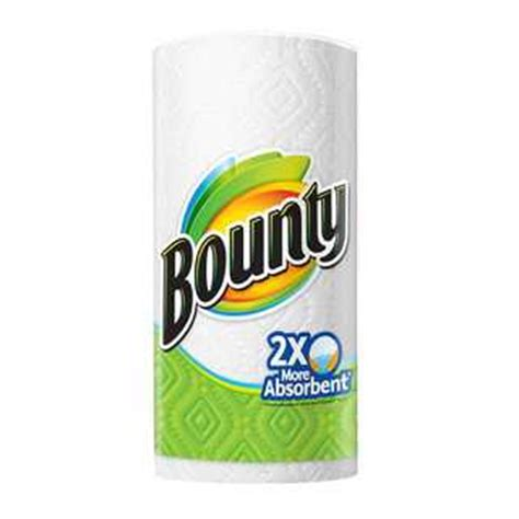 Who Makes Bounty Paper Towels - bounty big roll paper towels prints 6 count