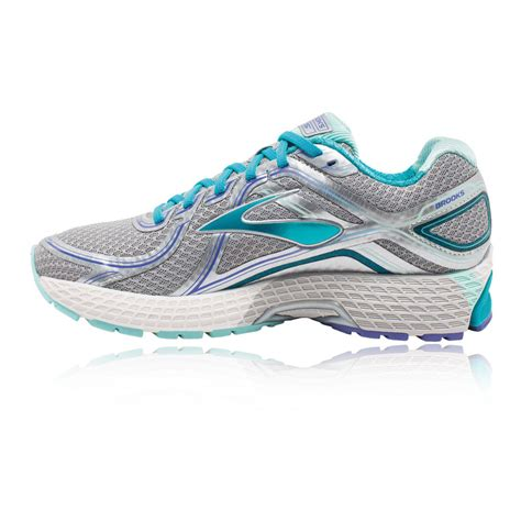 running shoes gts adrenaline gts 16 womens blue silver running shoes