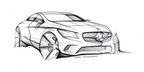 Auto Design Vorlagen Auto Repair Manual Mercedes Sketch And Lots More