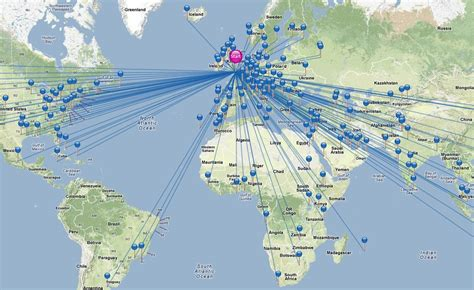 the world travels of map interactive content map of global air travel by amadeus