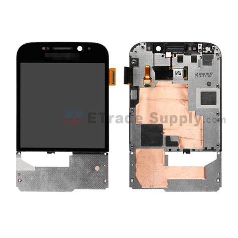 blackberry classic q20 lcd and digitizer assembly with