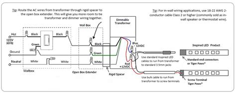 wiring diagram for low voltage lighting low voltage wiring