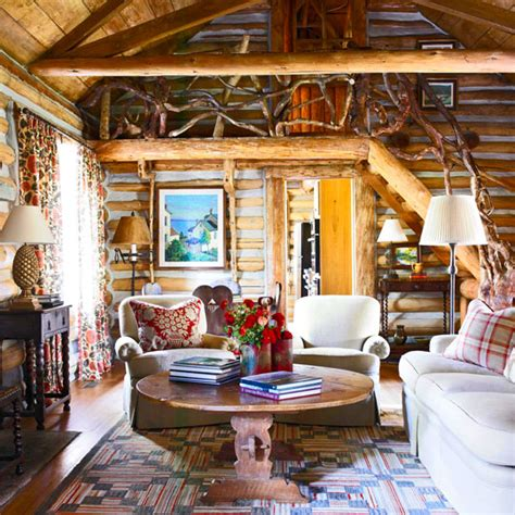 Storybook Cabins by Storybook Log Cabin Traditional Home