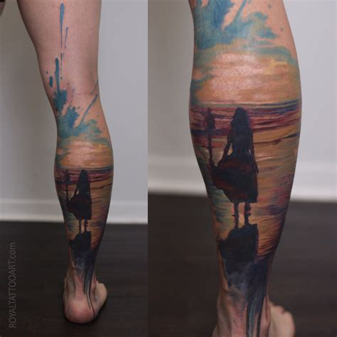 tattoo prices london ontario watercolor abstract tattoo realism ocean beach sunset nyc