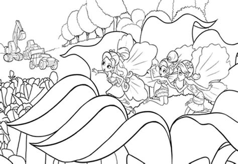 thumbelina coloring page az coloring pages