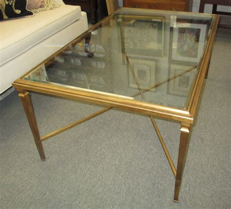 glass coffee table gold frame elegant gold and glass coffee table house photos