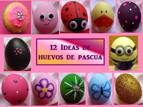 decorar huevos porexpan 12 ideas para decorar huevos manualidades para hacer