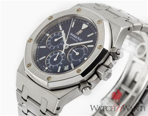 Ap Chrono Stainless sold listing audemars piguet ap royal oak jumbo automatic chronograph 40mm stainless