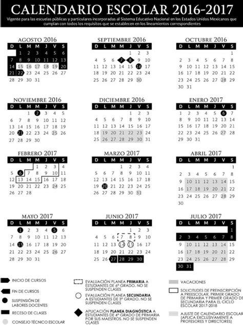 calendario 2016 y 2017 calendario escolar 2016 2017 provincia