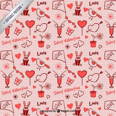 valentine pattern vector seamless valentine pattern vector free download