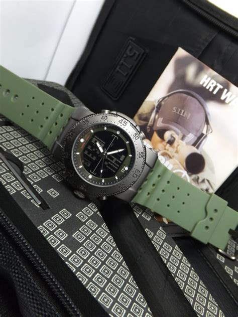 Jam Expedition 6672 Army Ac 511 Gc Rolex 511 Tactical Hrt Titanium Hijau Army Delta Jam Tangan