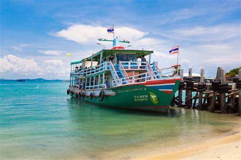 boat to koh samet samed resorts sai kaew beach resort on samet island