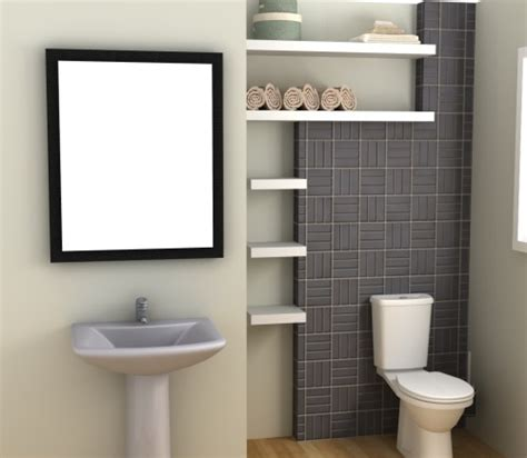 17 best ideas about floating shelves bathroom on pinterest take a look at these 3 space saving design ideas for tiny