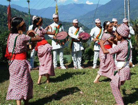 colourful sikkim their traditional attire fashion nelive