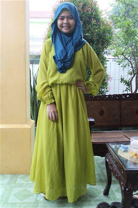 Dress Polka Dress By Hijabinc zahra salsabila polka dress green eid mubarak lookbook