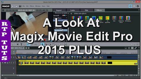 magix edit pro templates magix edit pro 2015 plus box opening and new
