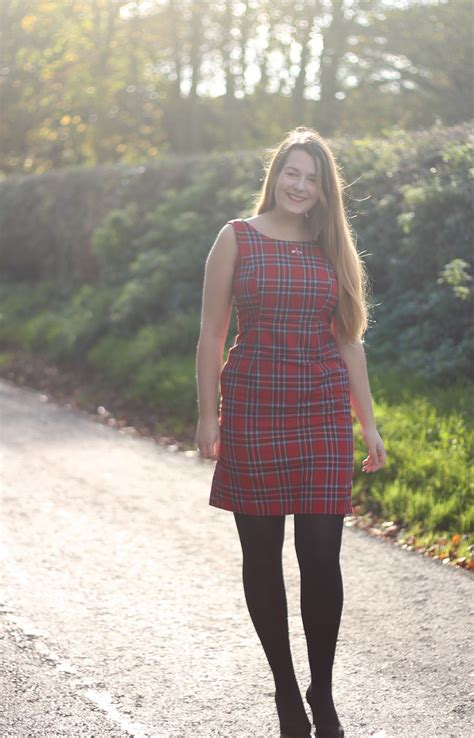 tartan shift dress great sewing bee sew your own