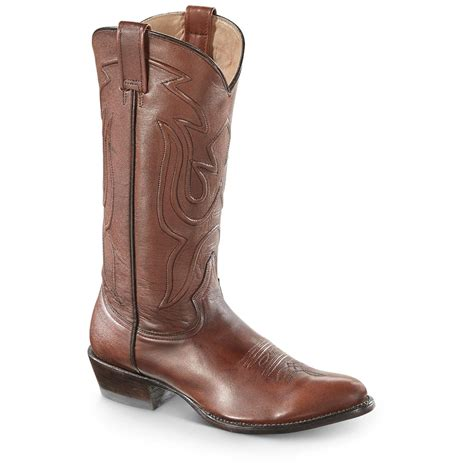 stetson mens cowboy boots stetson s burnished corded cowboy boots 663916