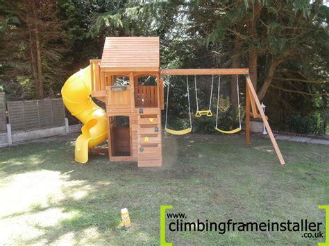 grandview swing set the grandview cedar climbing frame climbing frame installer