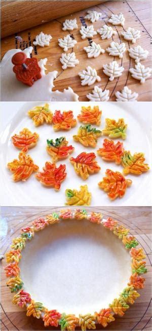 leaf pattern for pie crust pie crust leaves