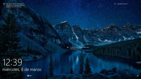 imagenes windows 10 pantalla bloqueo c 243 mo hacer una captura de la pantalla de bloqueo y login