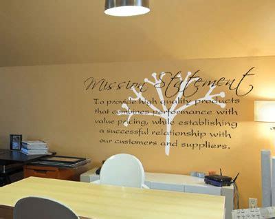 Olive Garden Mission Statement by Mission Statement Vinyl Decorative Wall Words