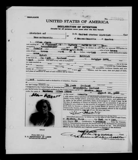 How To Find A Record Of A Family Member How To Find Your Family S American Using Naturalization Records Links To 1