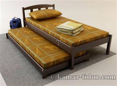 Dipan Kayu Ligna tempat tidur ligna model minimalis ranjang ligna tempat