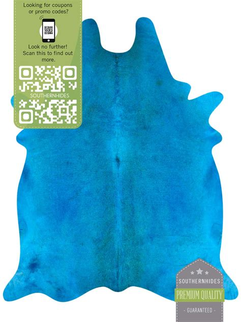 turquoise cowhide rug turquoise cowhide rug we are moved and affected by color