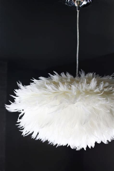 Feather Pendant Light Diy Feather Pendant A Beautiful Mess