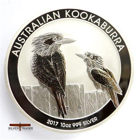 10 Oz Silver Coin Price by 2017 Australian Kookaburra 10 Oz Silver Bullion Coin