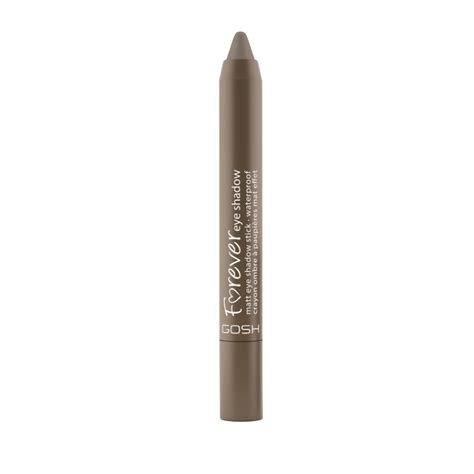matte twisted gosh forever eye shadow stick 10 matte twisted brown 1 5 g