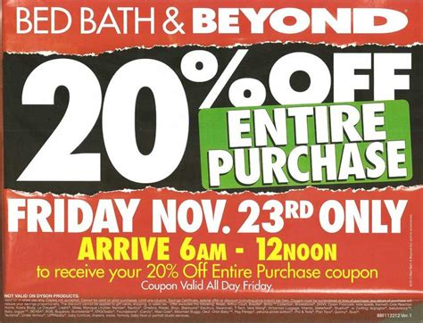 black friday bedding deals bed bath beyond black friday 2012 deals ad scan
