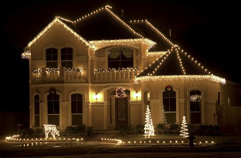 white lights on house outdoor lights ideas for the roof