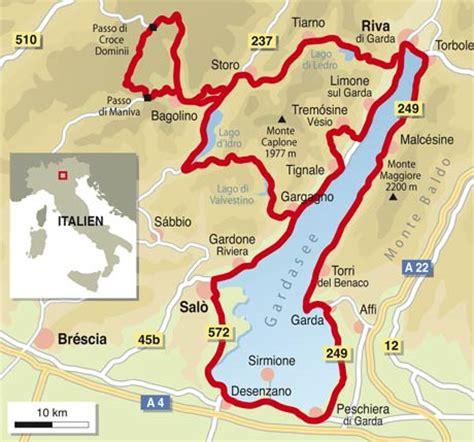 Motorradtour Norditalien by Italien Spezial Gardasee Info Karte Tourenfahrer