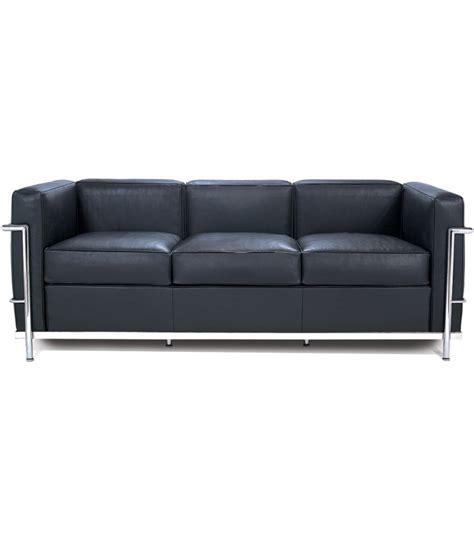 divano le corbusier lc2 divano 3 posti cassina milia shop