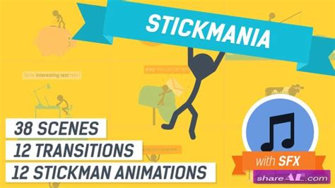 explainer video templates project for after effects videohive explainer video stickmania after effects project