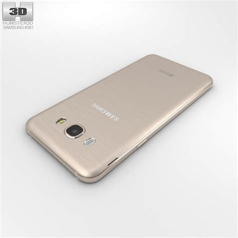 3d Samsung J7 2016 by Samsung Galaxy J7 2016 Gold 3d Model Hum3d