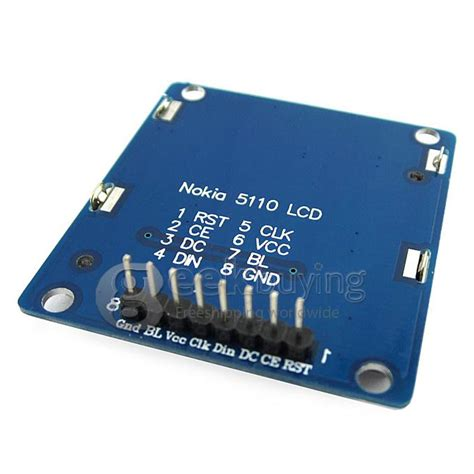 5110 Lcd Blue Color By Bustan nokia 1 6 quot 5110 lcd display module with blue backlight
