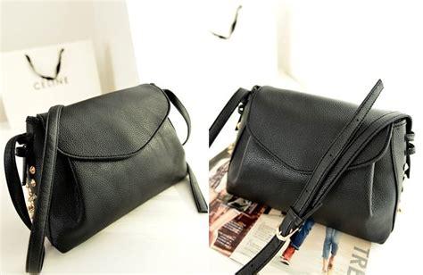 Tas Hitam Wanita Selempang Ada Tali Panjang Wanita Clutch Pergi Pesta jual tas selempang warna hitam simple fashion wanita korea