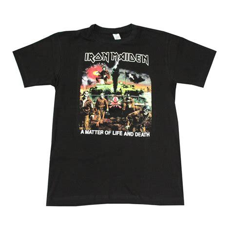 T Shirt Kaos Iron Maiden A Matter Of 0504 Dear Aysha iron maiden rock band t shirt a matter of and t shirts tank tops