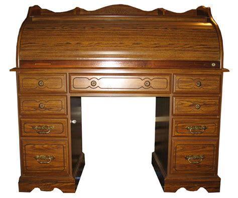 riverside furniture roll top rolltop desk with key lock ebay