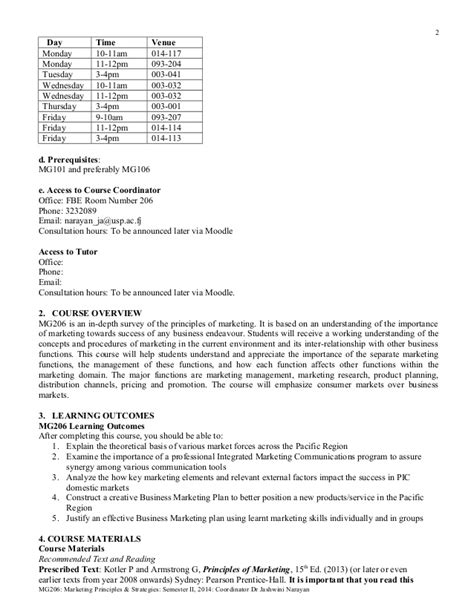 Smf 206 Course Outline 235731088 mg206 ff course outline 2014