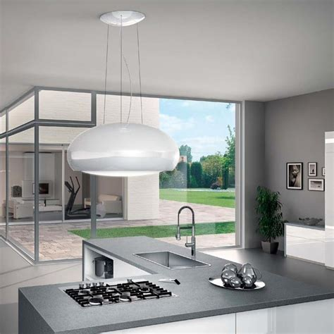 Interior Design Of Kitchen by Elica Pearl Designer Island Hood Epicair Co Uk