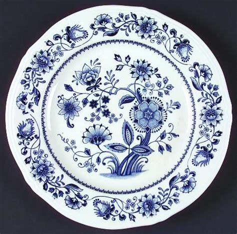 blue pattern on china japan blue onion fine ironstone no trim at replacements